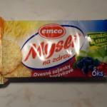 Emco musli sušienky - brusnica a čučoriedka